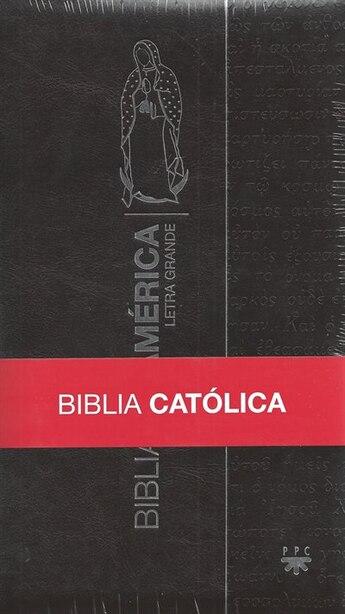 Biblia De América. Ppc. Virgen De Guadalupe. Acolchada Lg Con Separadores by La Casa de la Biblia