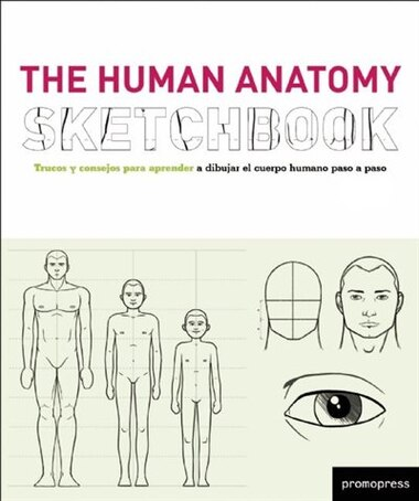 The Human Anatomy Sketchbook by Cristian Campos