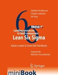 Leading processes to lead companies: Lean Six Sigma: Kaizen Leader & Green Belt Handbook