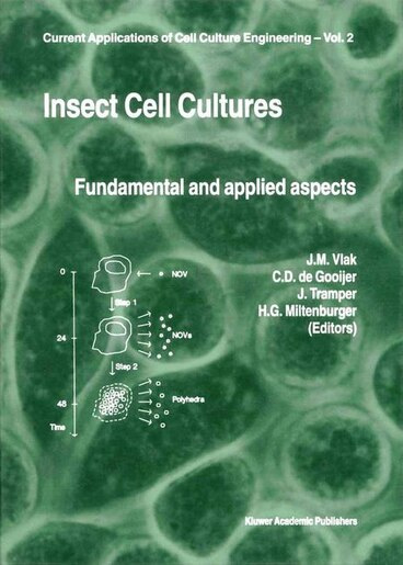 Insect Cell Cultures: Fundamental and Applied Aspects by Just M. Vlak