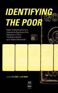 Book Identifying the Poor by F. G. Pyatt