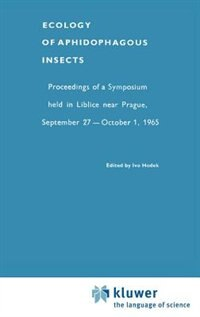 Ecology Of Aphidophagous Insects by Ivo Hodek