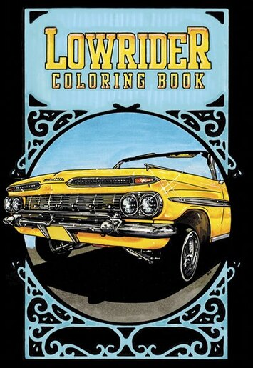 Lowrider Coloring Book by Oscar Nilsson