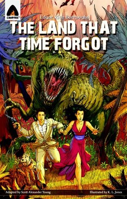 Book The Land That Time Forgot: The Graphic Novel by Edgar Rice Burroughs