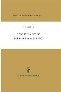 Stochastic Programming by V.V. Kolbin