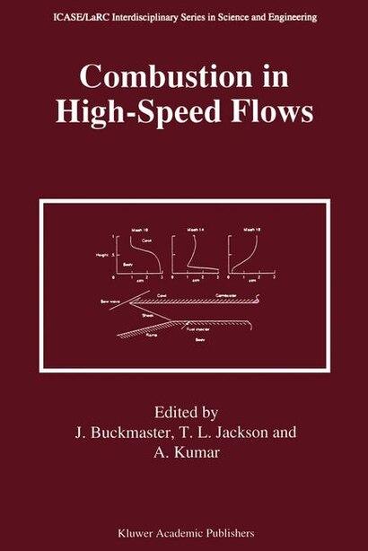 Combustion in High-Speed Flows de John Buckmaster