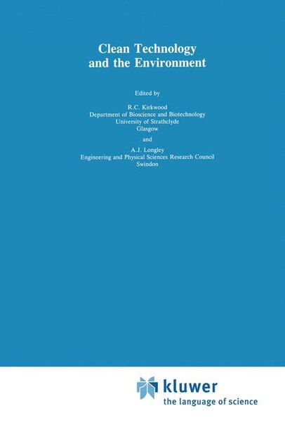Clean Technology and the Environment de R. Kirkwood