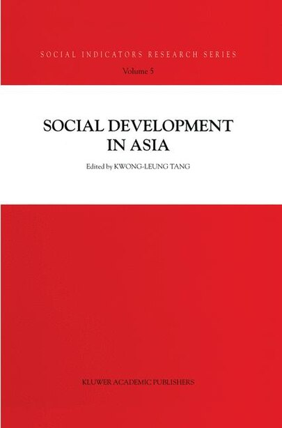 Social Development in Asia by Kwong-leung Tang