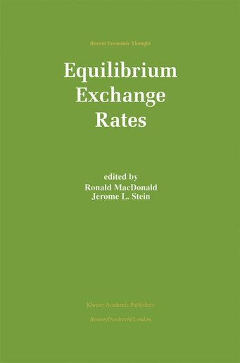 Equilibrium Exchange Rates by Ronald Macdonald