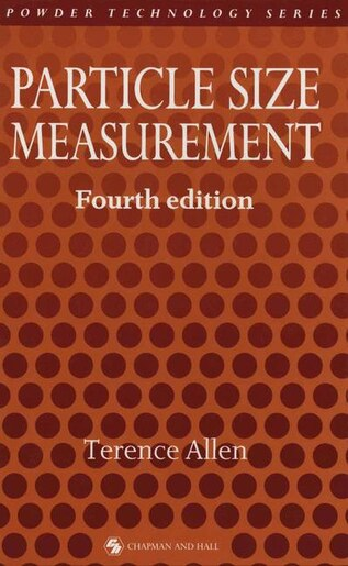 Particle Size Measurement by Terence Allen