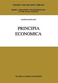 Principia Economica by G. Bernard