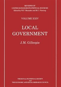 Local Government by J. Gillsepie