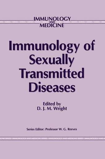 Immunology of Sexually Transmitted Diseases by D.J. Wright
