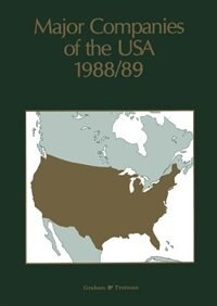 Major Companies of the USA 1988/89 by A. Wilson