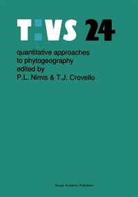 Quantitative approaches to phytogeography by Pier Luigi Nimis