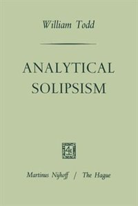 Analytical Solipsism