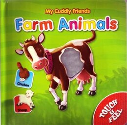 Book My Cuddly Friends Farm Animals by Son Schein
