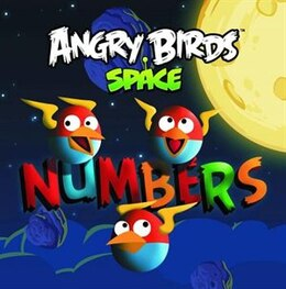 Book Angry Birds Space: Numbers Board Book by Artists N/a