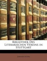 Bibliothek Des Literarischen Vereins In Stuttgart