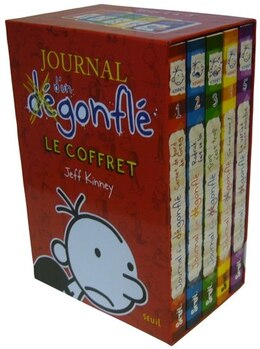 Book Coffret Journal d'un dégonflé 5 volumes by Jeff Kinney