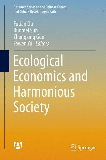 Ecological Economics and Harmonious Society by Futian Qu