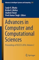 Advances In Computer And Computational Sciences: Proceedings Of Iccccs 2016, Volume 2
