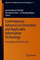Contemporary Advances In Innovative And Applicable Information Technology: Proceedings Of Iccaiait…