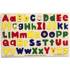 Wood Alphabet Puzzle