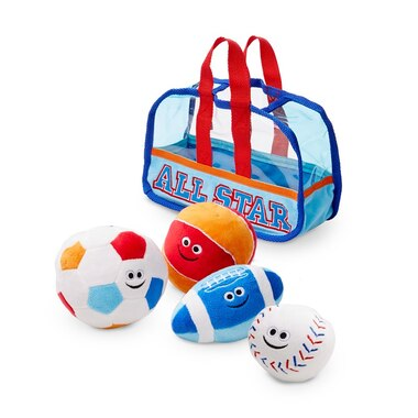 Melissa and Doug Fill and Spill Soft Toy Sports Bag