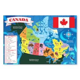 Canada Floor Puzzle 48 pieces