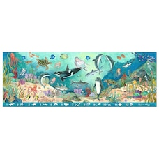 Melissa and Doug Search & Find Beneath the Waves 48 Piece Floor Puzzle