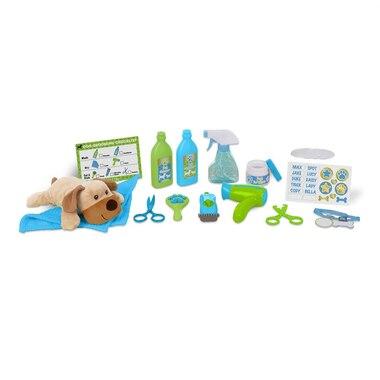 Melissa and Doug® Wash and Trim Dog Grooming Playset