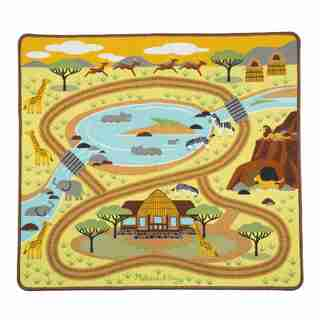 Melissa & Doug® Rug Round the Savanna Safari