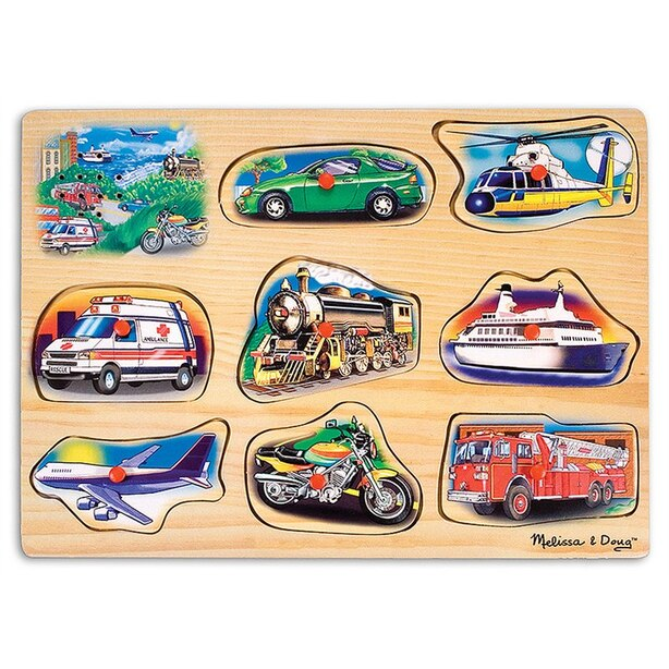 Classic Vehicles Sound Puzzle