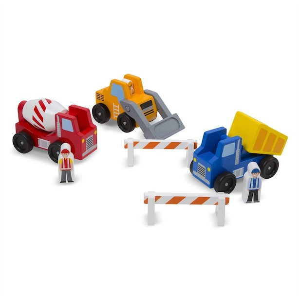 Melissa & Doug® Construction Vehicle Set