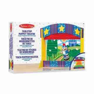 Melissa & Doug® Tabletop Puppet Theatre