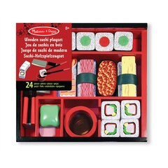 Wooden Sushi Slicing Playset
