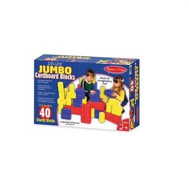 Deluxe Jumbo Cardboard Blocks (40 pc)