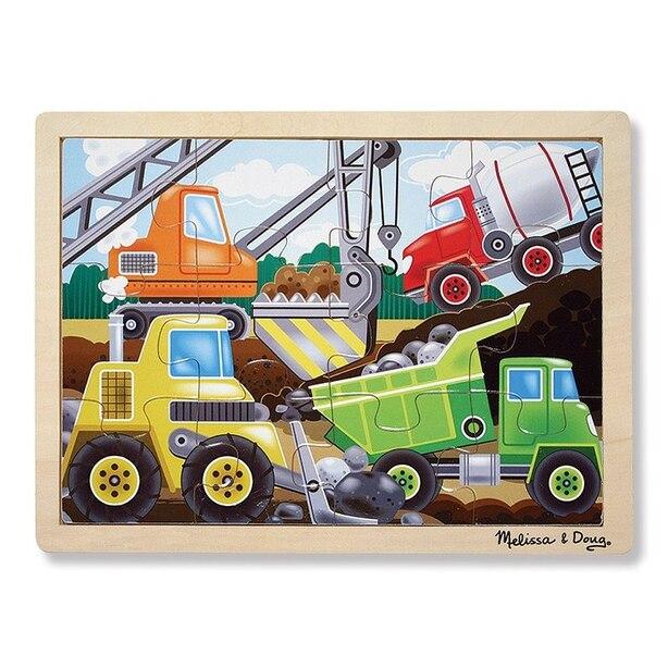 Construction Site Jigsaw (12pc)