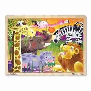 Melissa & Doug African Plains Jigsaw 24 Piece Puzzle