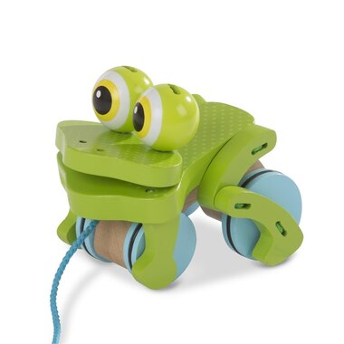 Melissa and Doug First Play Pull Toy Frolicking Frog