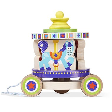 Melissa and Doug® Pull Toy Carousel