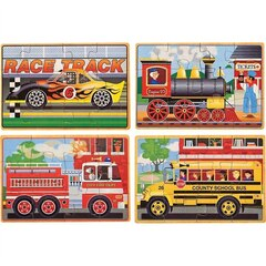 Vehicles in a Box Jigsaw Puzzles