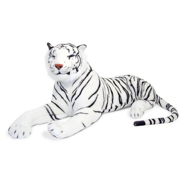 Melissa & Doug® Plush Animal Tiger White