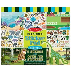 Habitats Reusable Sticker Pad
