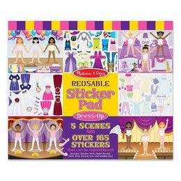 Dress-Up Reusable Sticker Pad