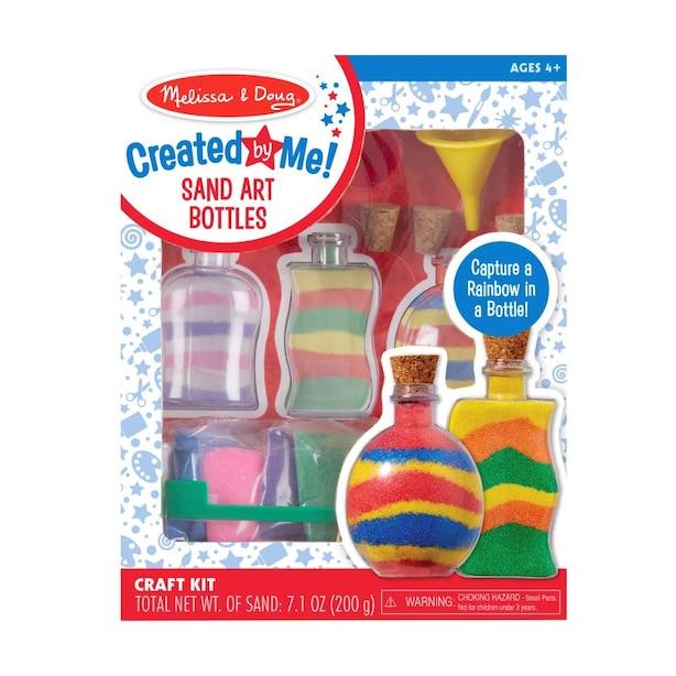MELISSA & DOUG Sand Art Bottles Craft Kit