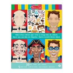 Make a Face Crazy Characters Sticker Pad