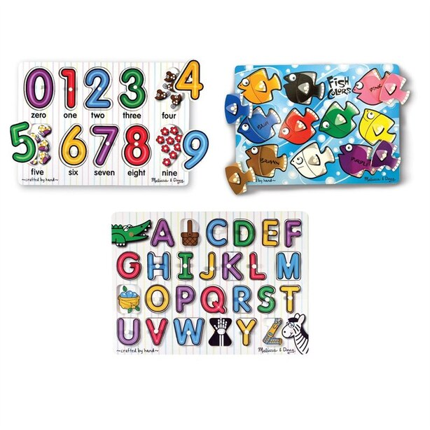 Deluxe Classic Peg Puzzle Bundle