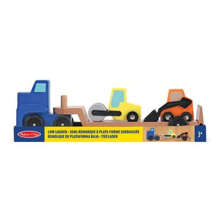 Low Loader Wooden Vehicles Playset